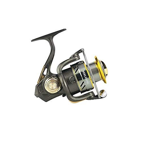 TJLSS Línea de la Rueda de Metal sin pausas del Eje de Alta Velocidad Que Pesca Spinning Rueda Izquierda y la Rueda de Pesca Mano Derecha Intercambiable