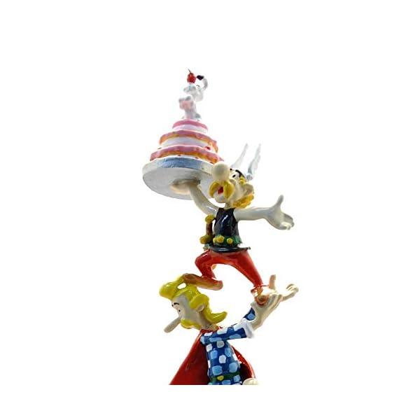 PIXI Figura de colección Columna de Astérix y Obélix 60 años 30cm 2336 (2019) 2