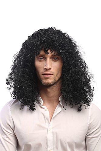 obtener pelucas disfraces negra