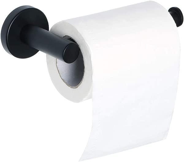 Alise Toilet Paper Holder Bathroom Tissue Holder Paper Towel Hanger Storage Wall Mount G3910 B SUS304 Stainless Steel Matte Black