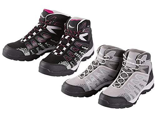Crivit Damen Trekkingschuhe Wanderschuhe Outdoorschuhe Schuhe Warterproof (39, grau)