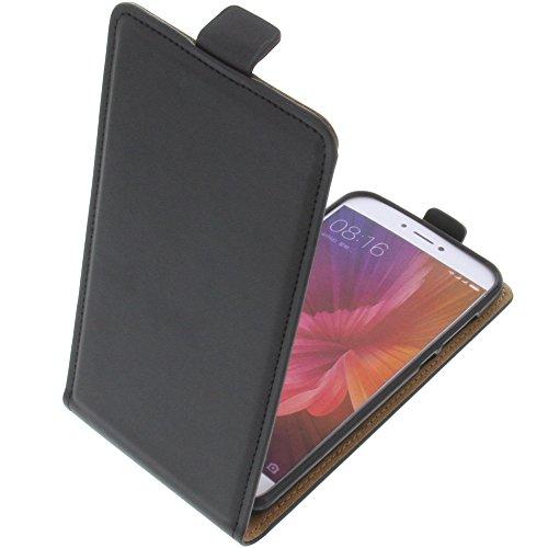 foto-kontor Tasche für Xiaomi Mi 5c Smartphone Flipstyle Schutz Hülle schwarz