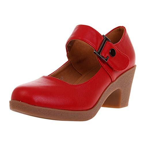 Damen Standard Tanzschuhe Spanische Flamenco Pumps Trainingsschuh Jazzschuhe Mittelhohe Weiche Sohle Latein Salsa Tango Dance Prinzessinnen Schuhe Celucke