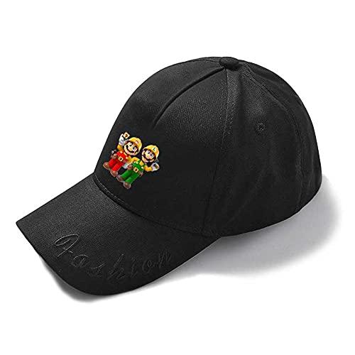 Super Mario Hat Super Mario Fabricación 2 Juego Periférico Gorras Hombres y Mujeres Sombreros de Béisbol Casual al aire libre protector solar Sombreros