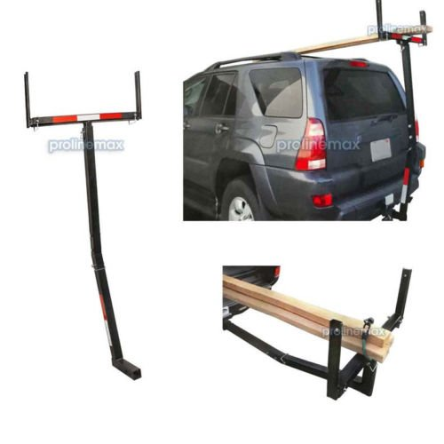 2'' Trailer Hitch Pickup Truck Bed Extender Carrier Load Bar Hauler 375 LB Cap