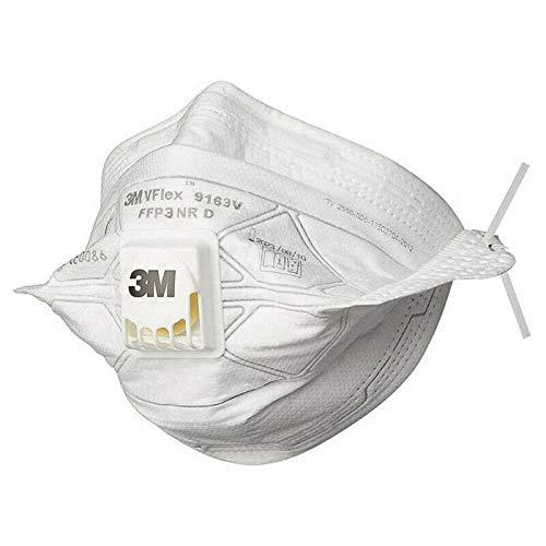 Masque anti-virus avec soupape 3M FFP3-1 pc