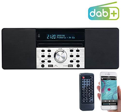 VR-Radio DAB Radio mit CD: Digitalradio mit DAB+, FM, Bluetooth, CD, Audio-Player, USB-Port, 60 W (Radio mit und USB, Bluetooth)