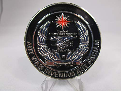 Central Intelligence Agency Special Operations Division United States Navy Seal Team VI USN Challenge Coin