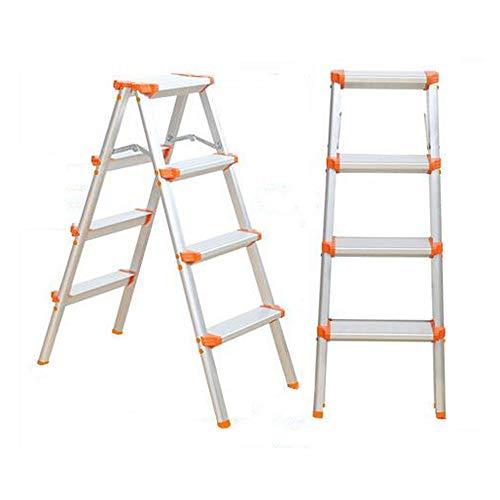 YYTY12 Ligstoel, inklapbaar, Passo dubbelzijdige kruk van aluminium, antislip, inklapbaar, eenvoudig op te bergen, garage