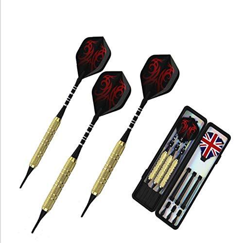 Lowest Prices! Soft Tip Darts 3Pcs 19G Shaft Good Flying Target Point Wing Syringe Soft Needle Tip F...