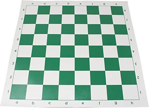 チェスジャパン チェス盤 スタンダード 51cm 57mm 日本チェス連盟公式用具 3枚入り