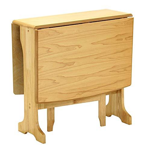 GREENHEART Furniture Uk & Ireland Little Bird Gateleg Drop Leaf Dining Table (Light Oak)
