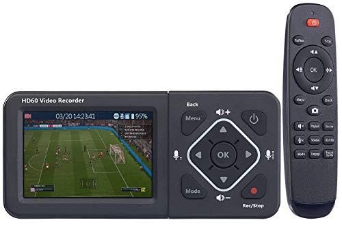 auvisio HDMI Videorecorder: HDMI-Video-Rekorder mit Farb-Display, Full HD, USB, SD, 60 Bilder/Sek. (Digitalisierer)
