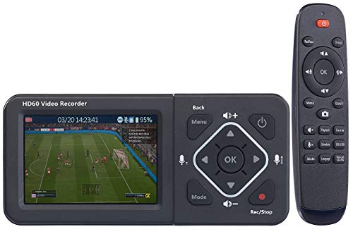 auvisio Videorecorder: HDMI-Video-Rekorder mit Farb-Display, Full HD, USB, SD, 60 Bilder/Sek. (Grabber)