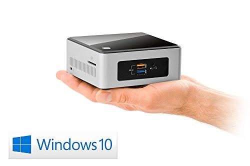 Mini PC - Intel NUC Pentium N3700-2 / Win 10 - Office QuadCore! PC-System mit Intel Pentium N3700 4X 1,6 GHz, 240GB SSD, 8GB RAM, Intel HD Graphics, CardReader, 7.1 Sound (HDMI), USB 3.1, Windows 10
