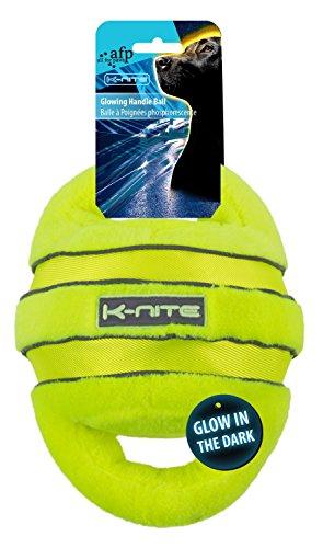 ALL FOR PAWS afp3320 Balle avec Anse Brillant et Fluorescent k-Nite