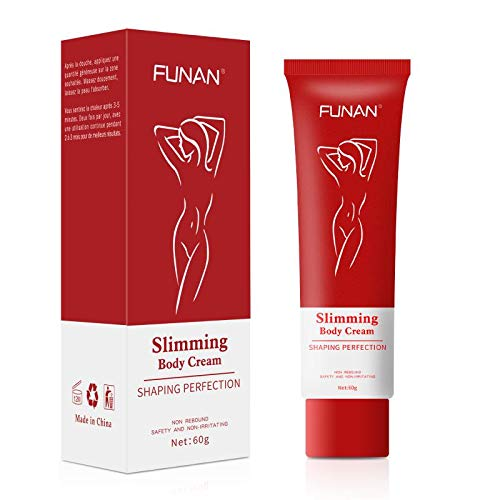Slimming cream Body Fat Burning Cream, Hot Cream Slim Cream for Waist, Effective Anti Cellulite Fat Burning for Waist, Abdomen and Buttocks (60ml)