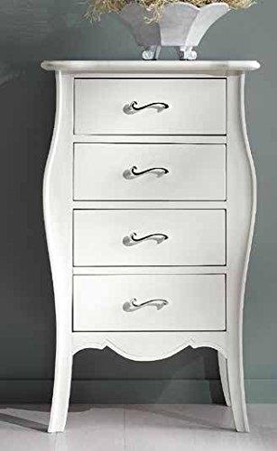 Legno&Design Commode profilée provençal Arredo CASA 4 tiroirs Bois