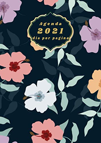 Agenda 2021 dia por pagina: Planificador anual 1 dia = 1 pagina...