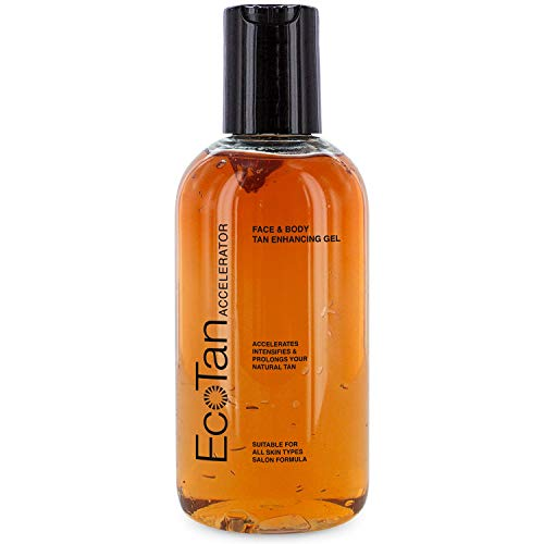 Eco Tan Accelerator Face and Body Tanning Gel 200ml by Ecotan