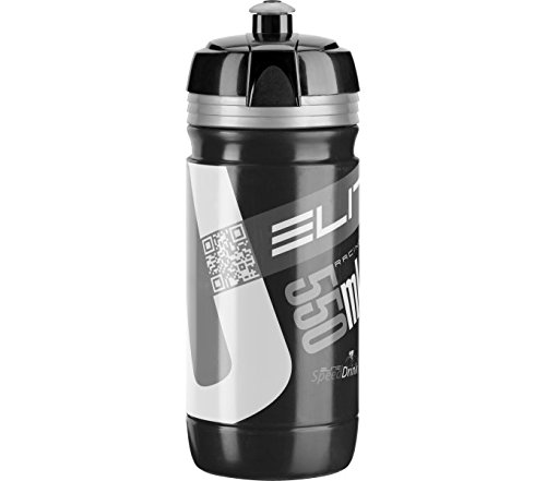 Elite - Borraccia Elite Corsa Nero Silver Bio 550 Ml