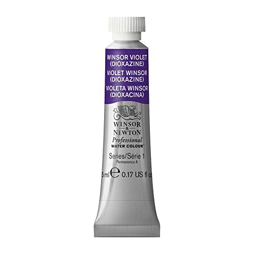 Winsor & Newton Professional Water Colour Paint, 5ml tube, Winsor Violet (Dioxazine)