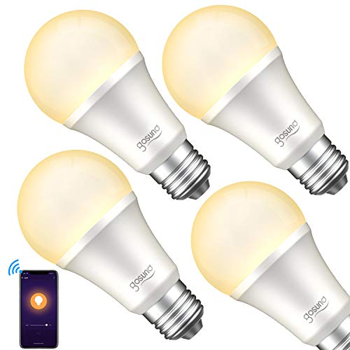 Smart Light Bulb, Gosund Dimmable WiFi LED Light Bulbs that Works with...