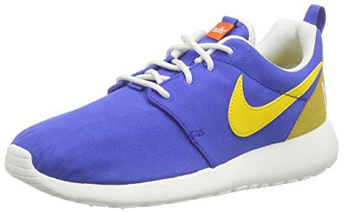 Nike Damen Roshe One Retro Laufschuhe, Blau (Blau/Gelb/Weiß), 36.5 EU