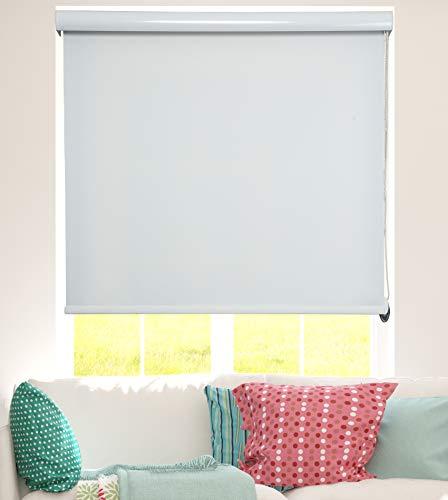 ShadesU Maßgeschneiderte Raumverdunkelung & Lichtfilterung Rollo Jalousien Fenster-Behandlungen (maximale Höhe 182,9 cm), naturfarben Roller Shades W 33Inch natur