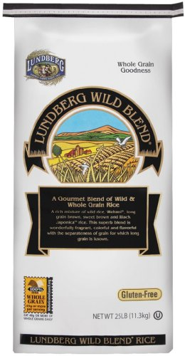 Lundberg Family Farms Organic Wild Blend Gourmet Brown Rice, Packaging May Vary, 400 Ounce (Pack of 1)