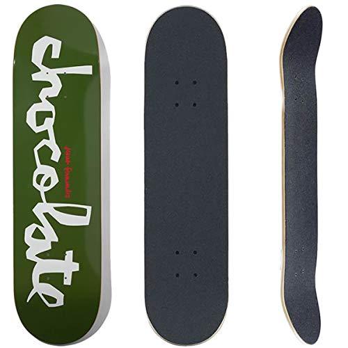 GIRL チョコレート スケボーデッキ単品 CHOCOLATE CHUNK ジーザスフェルナンデス 8.0x31.5インチ(デッキテープ サービス)CHOCO skateboards スケートボード デッキテープ貼る(デッキ単品)