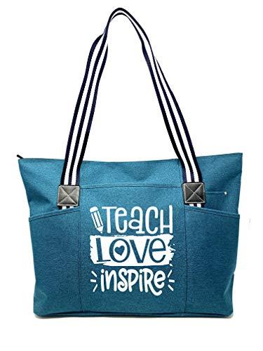Large Inspirational Teacher Tote Bag