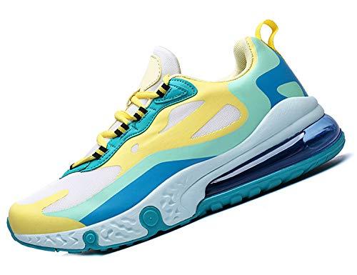 SINOES Zapatillas de Deportes Hombre Mujer Zapatos Deportivos Aire Libre para Correr Calzado Sneakers Gimnasio Casual 41 EU