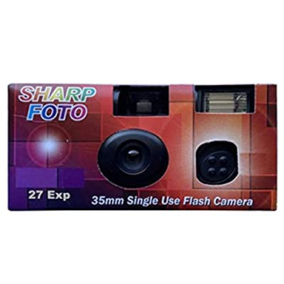 Sharp Foto Disposable Camera 35mm Film 27exp, Single-use Film Cameras ISO 200 by 21Supply
