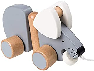 Innovations by Design Wooden Pull-Along Mouse Toy