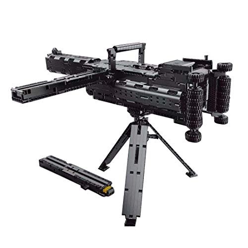 Lommer Technic Gun bloques de construcción, 1399 piezas AWP Blaster con balas, juego de construcción militar, compatible con Lego Technic