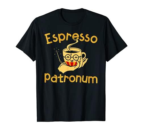 Espresso Patronum - Funny Coffee T-Shirt T-Shirt