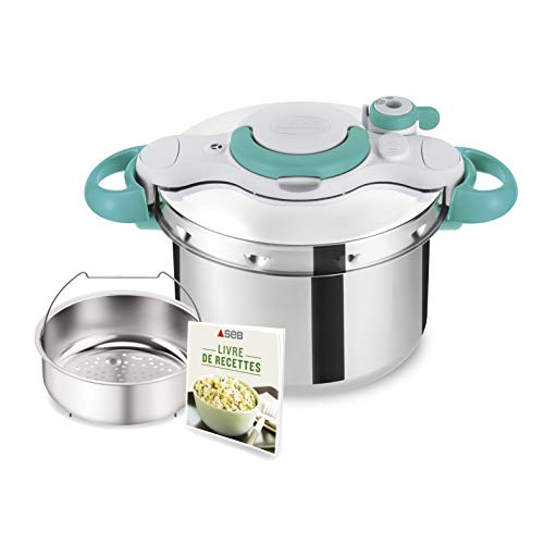 Seb Clipsominut' Easy Cocotte-minute 9 L Induction +...