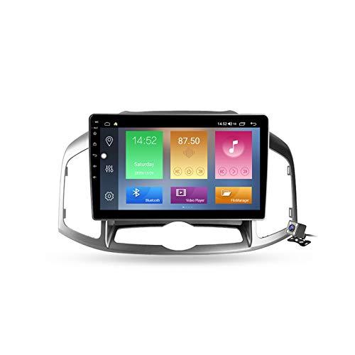 Android 10 Autoradio multimediale con 9 Pollici Screen per Chevrolet Captiva 1 2011-2016 Supporta la Navigatore GPS/DSP Stereo Auto BT/FM AM RDS Radio/Controllo del Volante/Carplay,M500