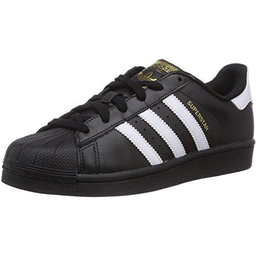 Adidas Superstar Foundation, Zapatillas Unisex Infantil, Multicolor (Core Black/Ftwr White/Core Black), 36 EU