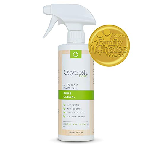 Oxyfresh All Purpose Deodorizer — Our Environmentally Friendly, Multi Purpose Deodorizer & Odor Eliminator is Family Safe. No Harsh Chemicals & Over Powering Fragrances.