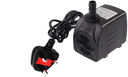 Submersible Water Pump for Aquarium Tabletop Fountains Pond Water Gardens...
