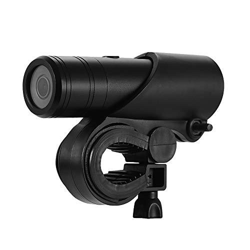 Andoer Cylindrical Sport Action Camera 2MP 1080P Full HD Aluminum Mini Camcorder Bike Helmet Camera Water-Resistant Outdoor DV Video Camera USB Charging