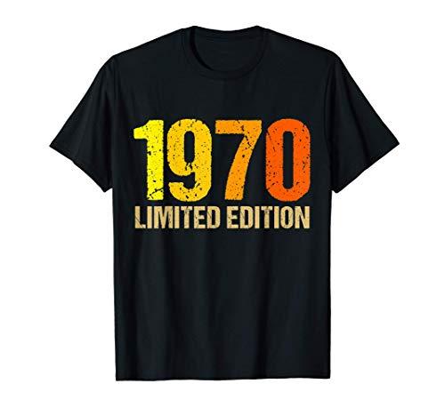 50 Años Cumpleaños Hombre Mujer Regalo Divertido 1970 Camiseta