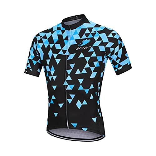 NAXIAOTIAO Juego De Correas De Ciclismo De Ciclismo De Ciclismo De Ciclismo, Kit De Montar A Caballo De La Humedad Sol Camiseta Transpirable,L