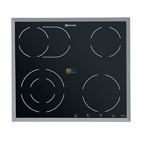 Bauknecht Whirlpool 481244039235 Kochfeld Glasplatte Platte mit Rahmen Glaskeramikplatte ORIGINAL auch Indesit Hotpoint C00489210