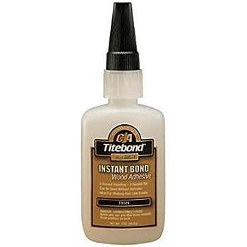 Titebond 6201 Instant Bond Wood Adhesive Thin 2oz Amazon Co Uk Diy Tools