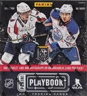 2013/14 Panini Playbook Hockey box (3 cards)