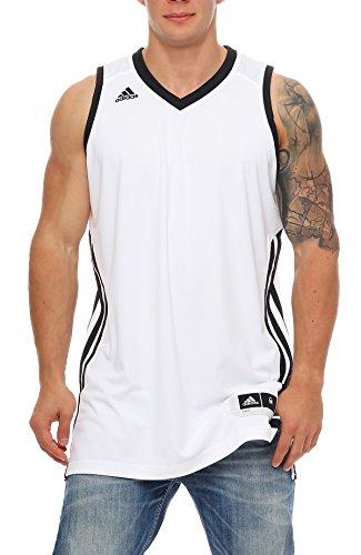 Basketball Sleeveless E Kit2.0 JER Weiß Schwarz WHITE/BLACK XLT