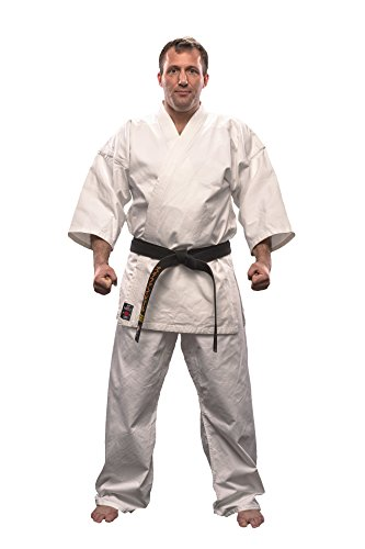 DanRho Karate Anzug Gi Kyoshi weiß